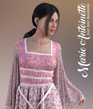 Daz Iray - Marie Antoinette 2D Graphics Merchant Resources Atenais