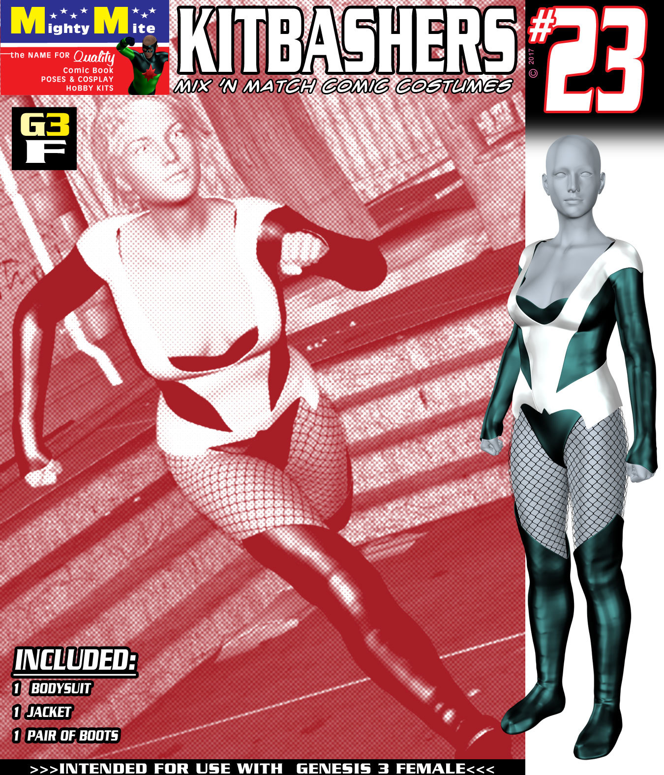 Kitbashers 023 MMG3F by MightyMite