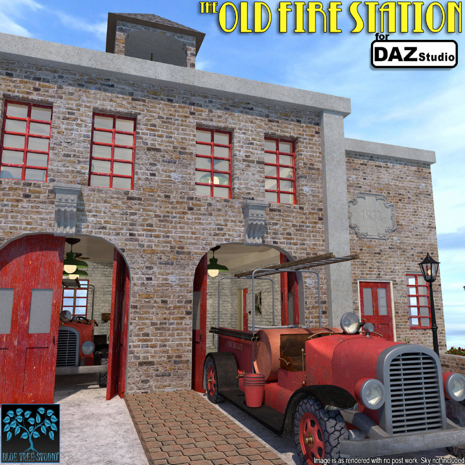 The Old Fire Station for Daz Studio