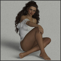 Breezing - Poses for G3F-V7-G8F image 2