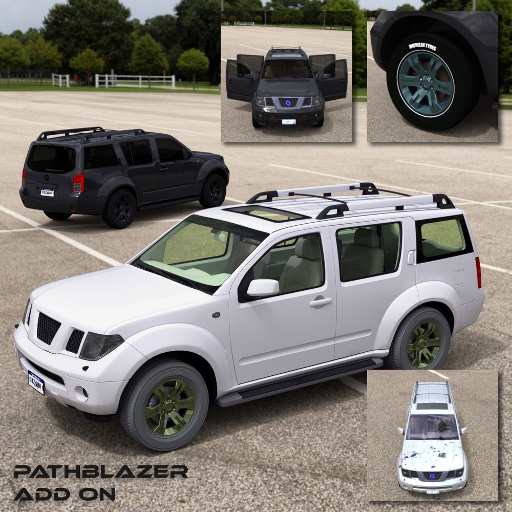 Add On for Pathblazer SUV by Vanishing Point