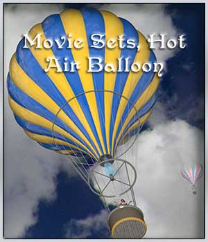 Movie Sets, Hot Air Balloon 3D Models DreamlandModels