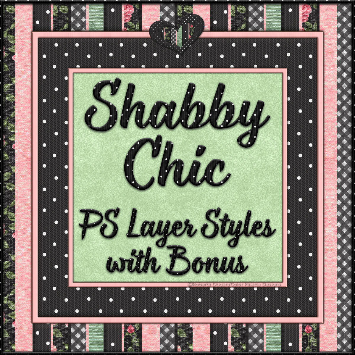 Shabby Chic PS Layer Styles