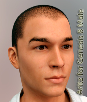 Aritz for G8M 3D Figure Assets bu_es