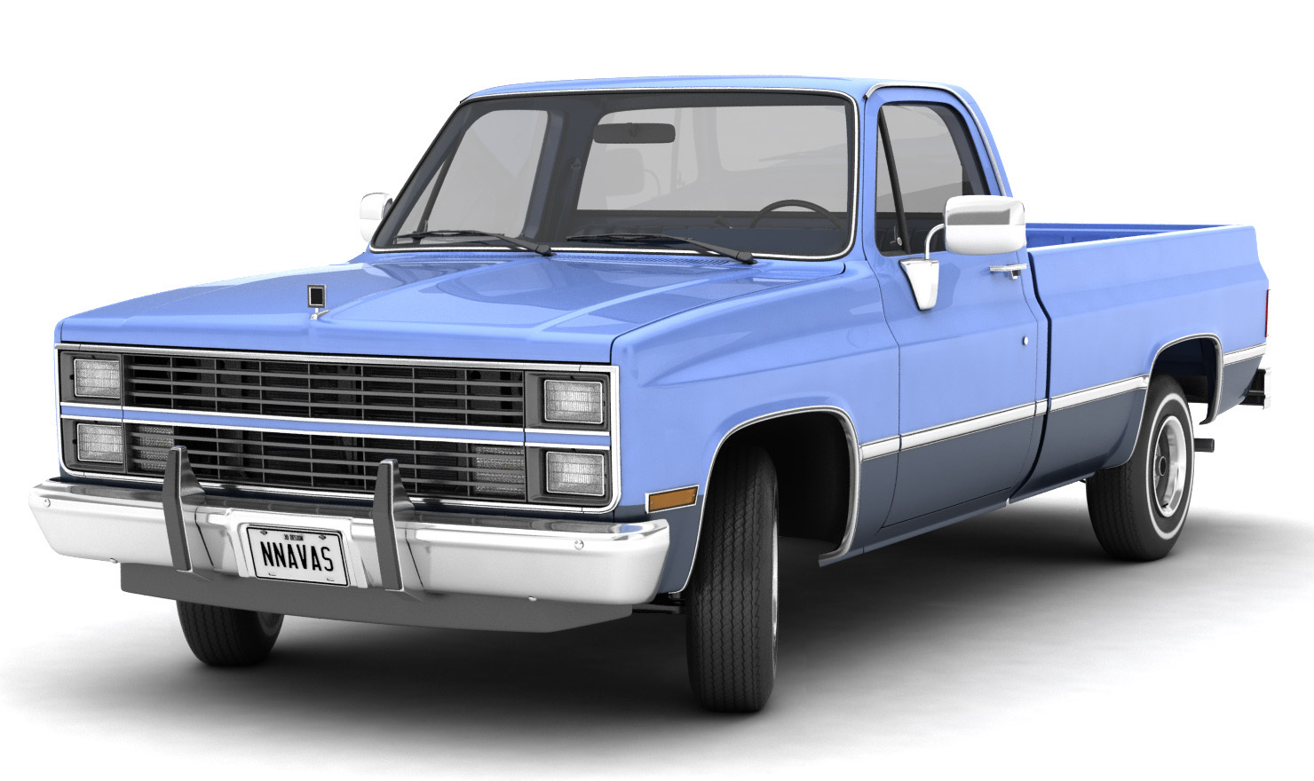 GENERIC PICKUP TRUCK 3 - Extended Licence by nnavas