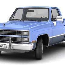 GENERIC PICKUP TRUCK 3 - Extended Licence image 1