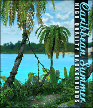 Caribbean Summer Backgrounds 2D Graphics Sveva