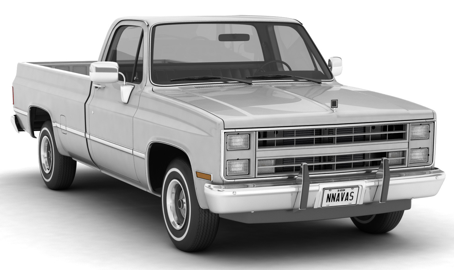 GENERIC PICKUP TRUCK 2 - Extended License
