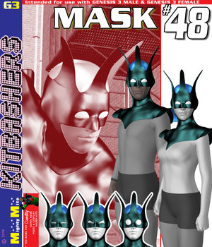 Mask 048 MMKBG3 3D Figure Assets MightyMite