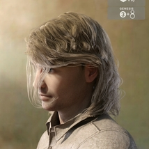 Zorius Hair for G3 G8 Males image 5