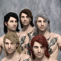 Zorius Hair for G3 G8 Males image 6