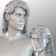 Zorius Hair for G3 G8 Males image 8