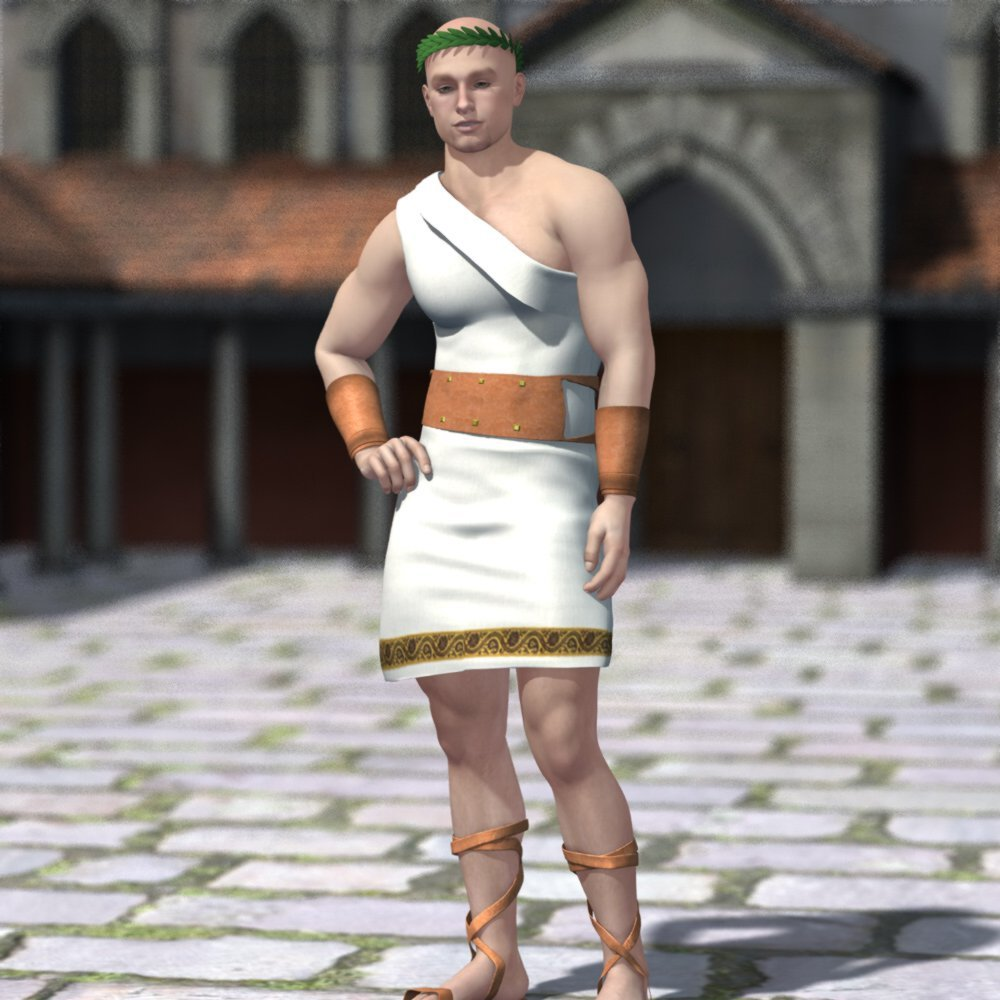 Roman Outfit for M4 and Poser