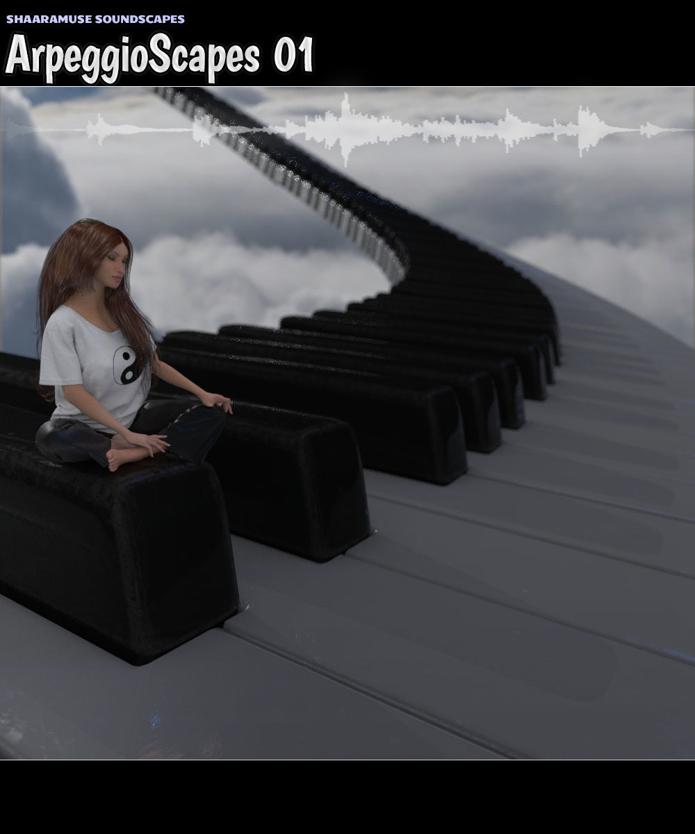 Shaaramuse Soundscapes: Arpeggioscapes 01 - Extended License by ShaaraMuse3D