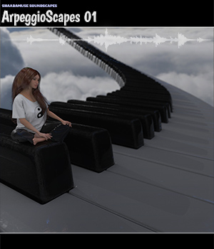 Shaaramuse Soundscapes: Arpeggioscapes 01 - Extended License Extended Licenses Music  : Soundtracks : FX ShaaraMuse3D