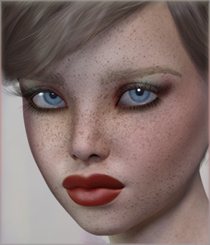 TDT-Cassandra for Genesis 3 Female 3D Figure Assets Deva3D
