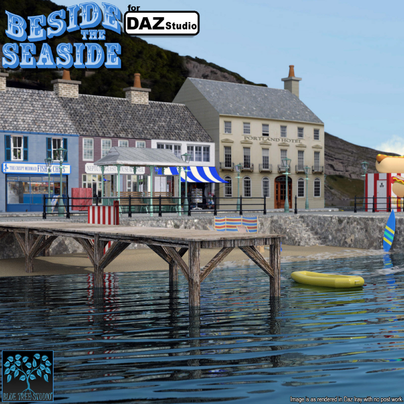 Beside the Seaside for Daz Studio by BlueTreeStudio