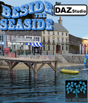 Beside the Seaside for Daz Studio 3D Models BlueTreeStudio