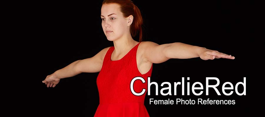 CharlieRed, Female Full Figure Photo References by levius