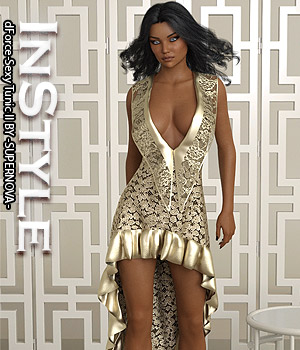 InStyle - dForce-Sexy Tunic II 3D Figure Assets -Valkyrie-