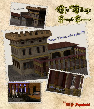 The Village - Temple Terrace 3D Models mgdegenhardt