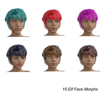 Elf Creator for Genesis 8 Female image 7
