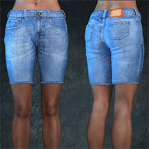 Exnem Jeans for Genesis 8 Female image 3