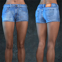 Exnem Jeans for Genesis 8 Female image 4