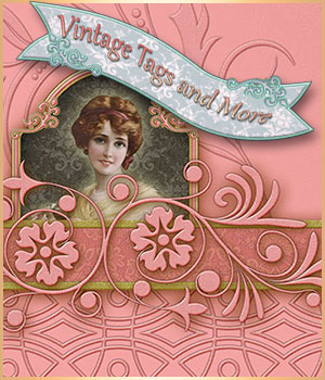 Vintage Tags and More 2D Graphics antje