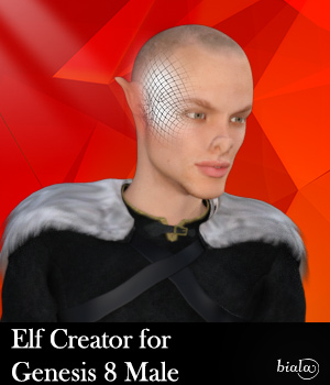 Elf Creator for Genesis 8 Male 3D Figure Assets biala