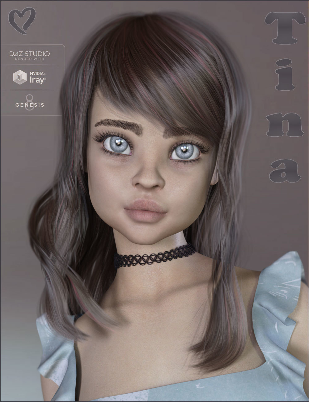 TDT-Tina for Genesis 8 Female by Deva3D