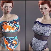 Sirens: X-Fashion Kimora Swimsuit image 1
