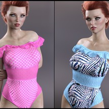 Sirens: X-Fashion Kimora Swimsuit image 3