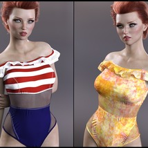 Sirens: X-Fashion Kimora Swimsuit image 5