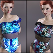 Sirens: X-Fashion Kimora Swimsuit image 7