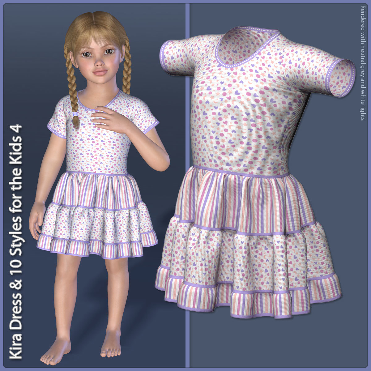 Kira Dress and 10 Styles for the Kids 4