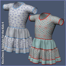 Kira Dress and 10 Styles for the Kids 4 image 6
