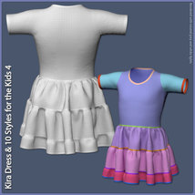 Kira Dress and 10 Styles for the Kids 4 image 8