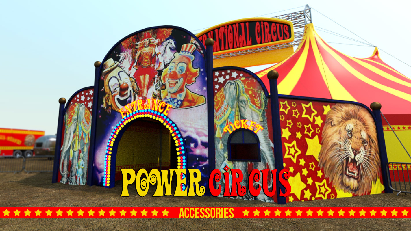 POWER CIRCUS ACCESSORIES for DS Iray