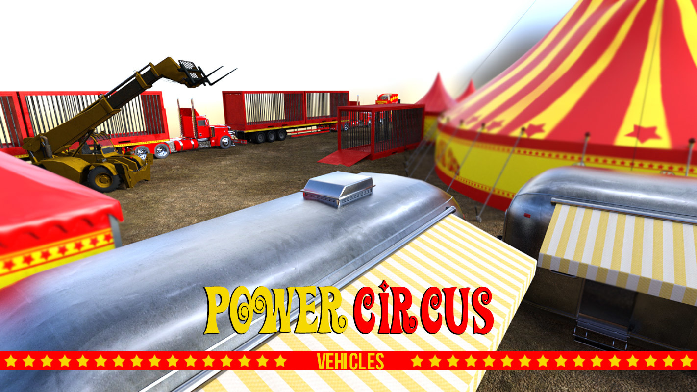 POWER CIRCUS VEHICLES for DS Iray