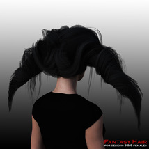 Fantasy Hair for G3 females and G8 females image 2