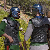 dForce Roman Cavalry for Genesis 8 Male and Daz Horse 2 image 3