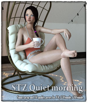 STZ Quiet morning 3D Figure Assets santuziy78