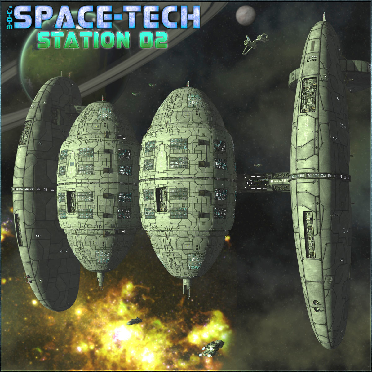 SpaceTech: Space Station 02