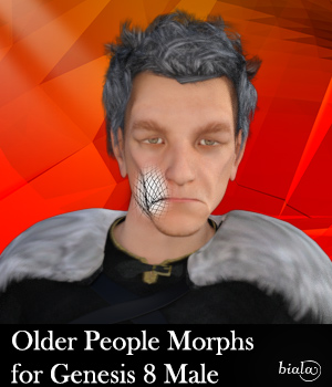 Older People Morphs for Genesis 8 Male 3D Figure Assets biala