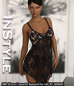 InStyle - JMR dForce Coquette Babydoll for G8F