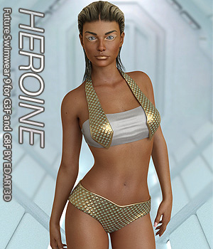 VERSUS - Future Swimwear 9 for G3F and G8F 3D Figure Assets Anagord