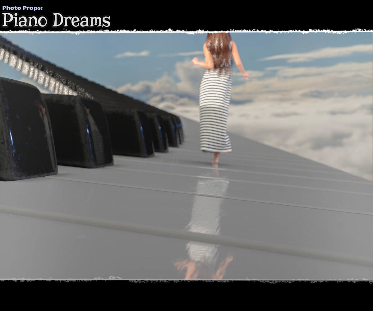 Photo Props: Piano Dream
