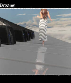 Photo Props: Piano Dream 3D Models ShaaraMuse3D