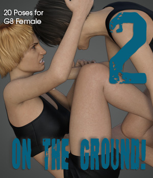 ON THE GROUND! vol.2 for Genesis 8 Female 3D Figure Assets PainMD